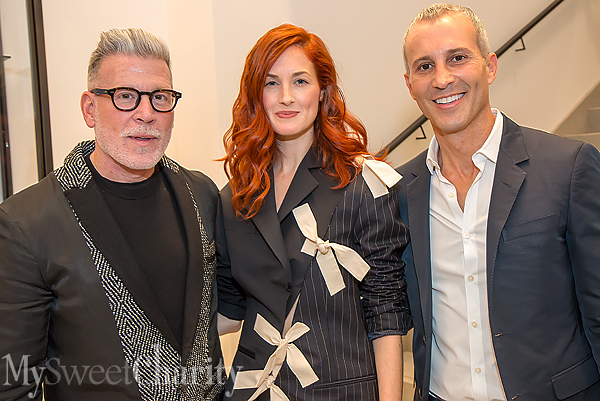 IMG_7928 Nick Wooster, Taylor Tomasi Hill and Faisal Halum