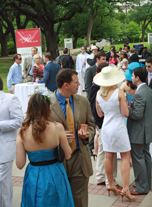 Tip of the Hat to Lee Park Conservancy's Day at the Races