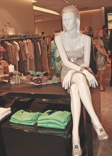 """Salvation Army Auxiliary Celebrates Escada's New Look And """"Friendly"""" Price Tags"""