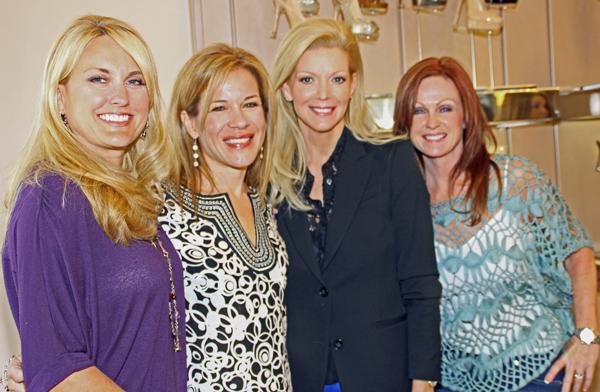 Rebecca Griffin, Larissa Linton, Diane Digiuseppe and Cheryl Carter (File photo)