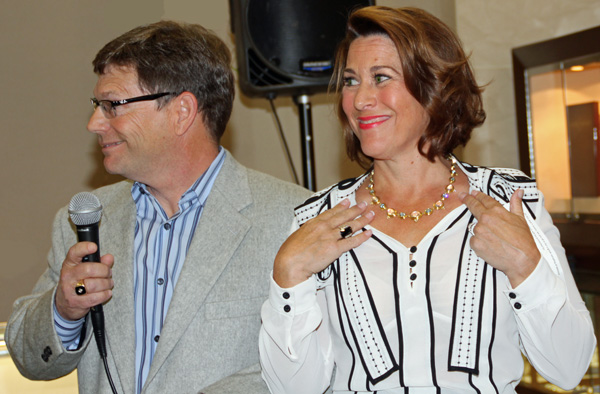 Accessible Luxury Patron Party's Raffle Turned Out To Be A Two For One Family At Eiseman Jewels