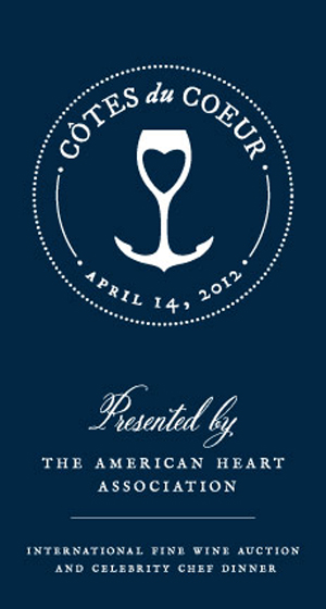 Côtes du Coeur Wine Society's International Fine Wine Auction Will Tantlize Tastebuds To Create Heart-Healthy Funding