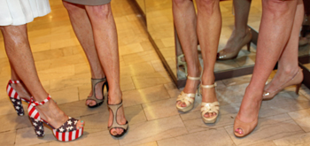 Family's Place's Stiletto Strut Game Allows You To Guess Which Designers Hit the Pavement Around Neiman Marcus