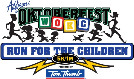 27th Annual Wipe Out Kids' Cancer Oktoberfest Run Takes Off September 22 At Addison Park Circle