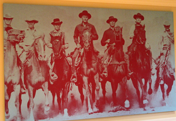"Russell Young's ""The Magnificent Seven"""