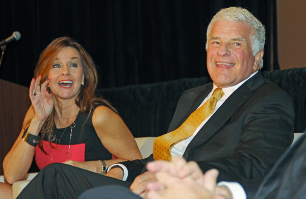"""Scott Ginsburg, Dee Lincoln And Phil """"The Man"""" Romano Provided Tasty Fodder At """"Expanding World Luncheon"""""""