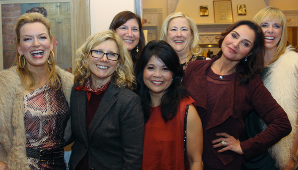 Kate Rose Marquez, Wendy Krispin,Jill Tananbaum, Nancy Gopez, Roz Colombo and Cindy Stager (File photo)