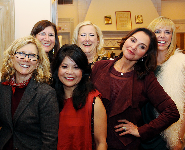 Wendy Krispin, Jill Tananbaum, Nancy Gopez, Roz Colombo and Cindy Stager