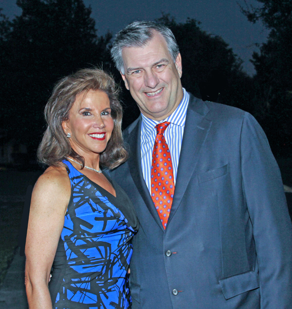 Lisa Blue Baron Celebrates Both Her 60th Birthday And The Launch Of The Larry Hagman Foundation