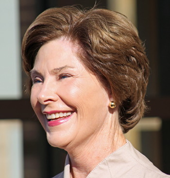 Go Red For Women Luncheon With Former First Lady Laura Bush