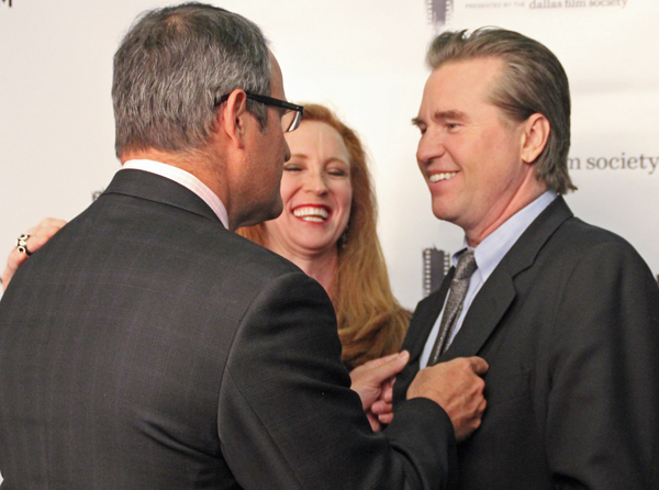 Paul and Tiffany Divis and Val Kilmer (File photo)