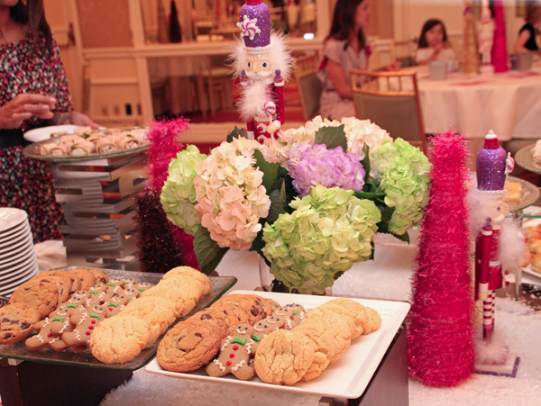 Veteran And Future Fundraisers Nosh With Nutcracker Types At Sugar Plum Fairy Tea At The Mansion