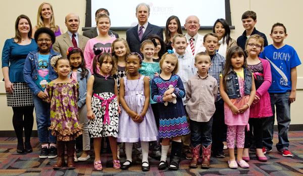 Children's Cancer Fund group shot