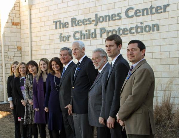 Trevor and Jan Rees-Jones Foundation team