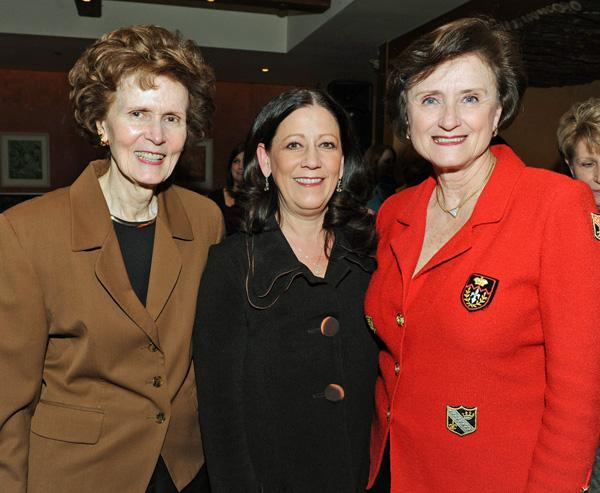 ShIrley Lockett, Stephanie Brigger and Suzanne Caruso