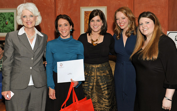 Jan Langbein, Claire Gran, Catherine Coffee, Kelly Little and Denise Jernigan