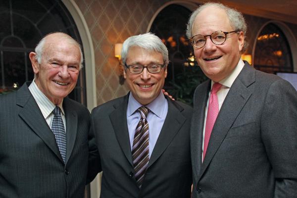 Stan Levenson, Rabbi David Stern and Jeremy Halbreich