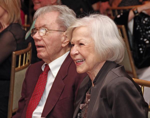 Ralph Gorman and Faye Briggs