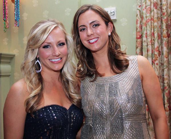 Jacque Kennedy and Lauren Chapman
