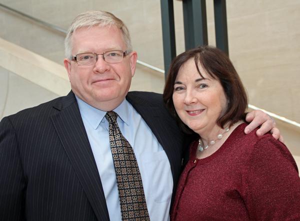 Jonathan and Amy Martin