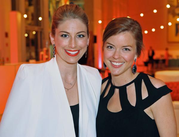 Allie Stensrud and Claire Liedtke