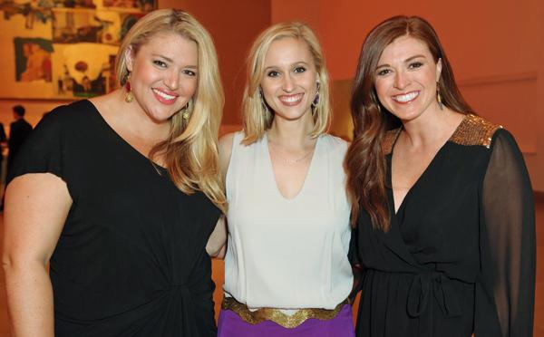 Meghan Looney, Medley Crank and Ashley Hightower