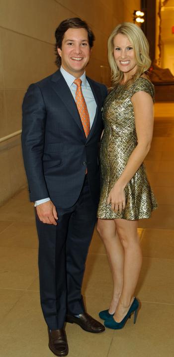 Carl Sewell III and Josie McGray