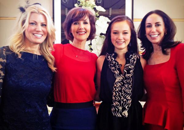 Holly Davis, Janine Turner, Juliette Turner and Jocelyn White