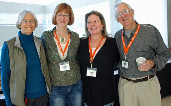 Ginny Marsh, Linda Gossett, Angela Gallia and John Williams
