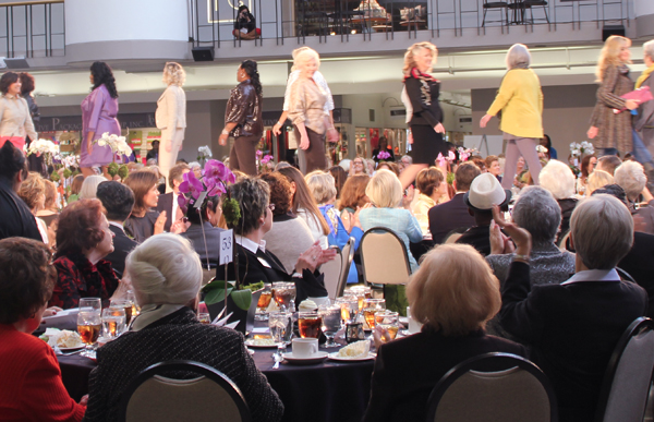 Attitudes & Attire fashion show with Eileen Fisher fashions