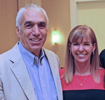 David Sheff and Jan Osborn (File photo)