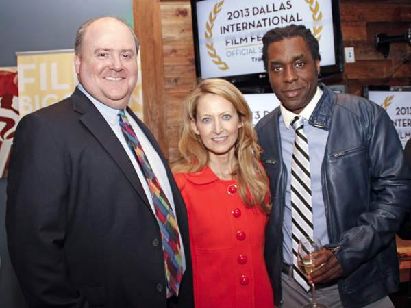 Lee Papert, Lynn McBee and James Faust