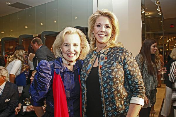 Yvonne Crum and Martha Wyly Miller