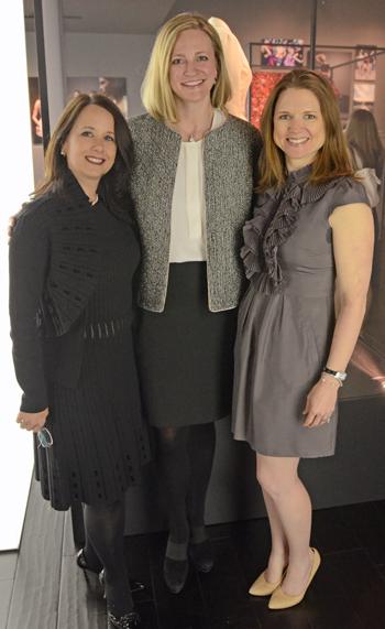 Angela Fontana, Jennifer Sampson and Debra Brennan Tagg