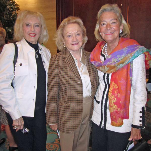 Sally Bos, Myron Martin  and Laura McClung