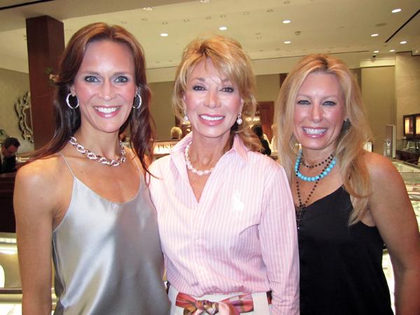 Brooke Shelby, Olivia Kearney and Mary Gill