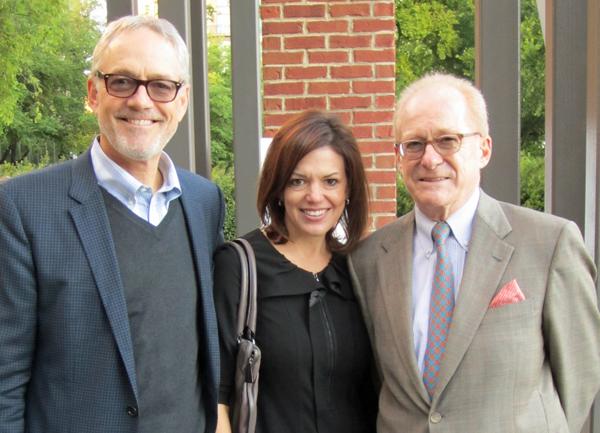 Stephen Shawler, Diane Gillis and Patrick Esquerre