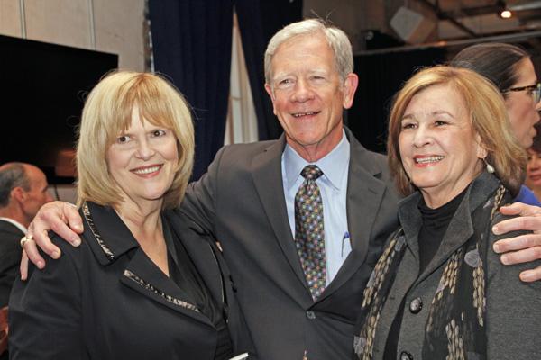 Mary Suhm, John Scovell and Gail Thomas