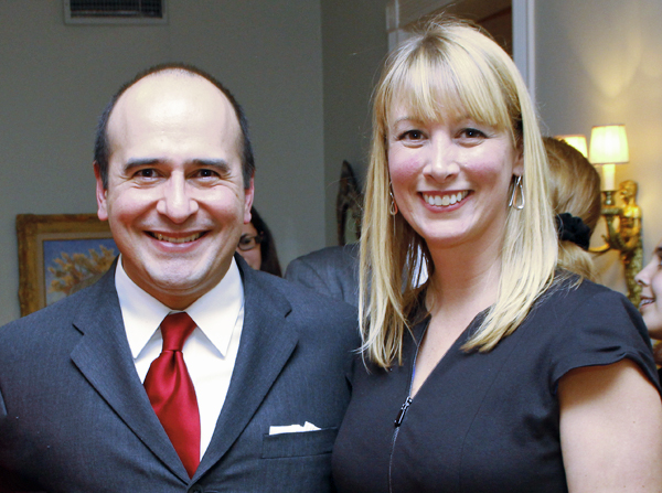 Jose Reyes and Michelle Scott