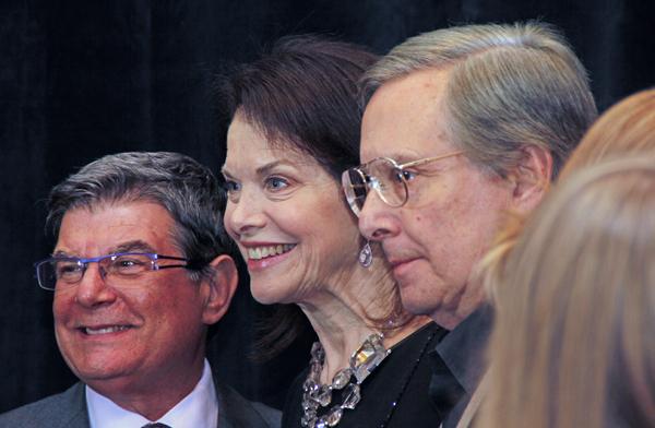 Arthur Benjamin, Sherry Lansing and William Friedkin