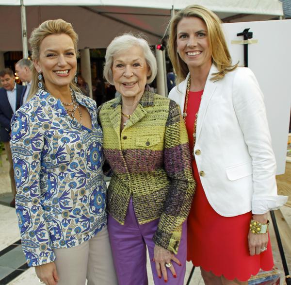 Kate Rose Marquez, Faye Briggs and Julie Bagley