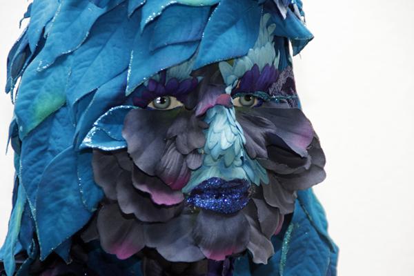 Sauterne floral sculpture by Jessica Jesse