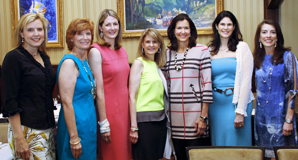 Tracey Kozmetsky, Beth Thoele, Piper Wyatt, Caren Kline, Sara Lee Gardner, Elizabeth Gambrell and Cara French