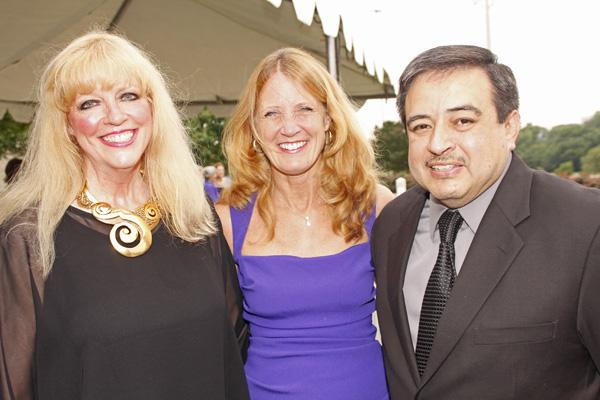 Lynn Dealey, Dana Millet and Daniel Holguin