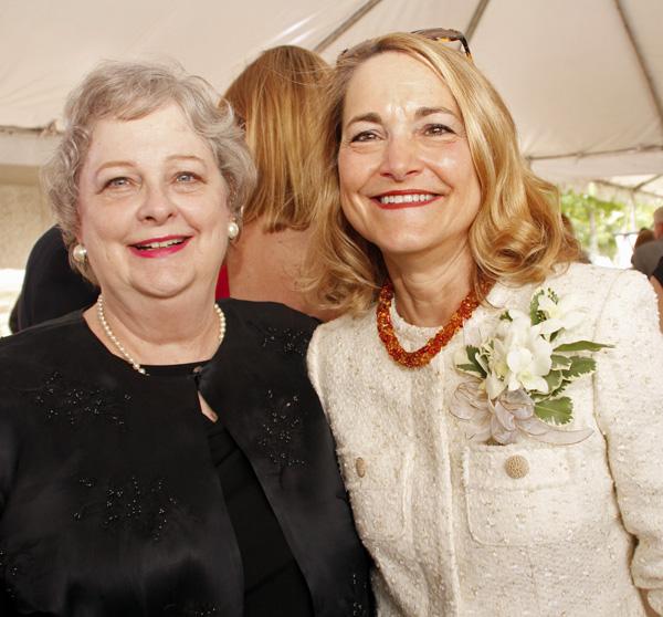 Charlene Howell and Margaret Keliher
