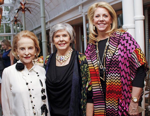 Nancy Dedman, Dee Wyly and Martha Miller