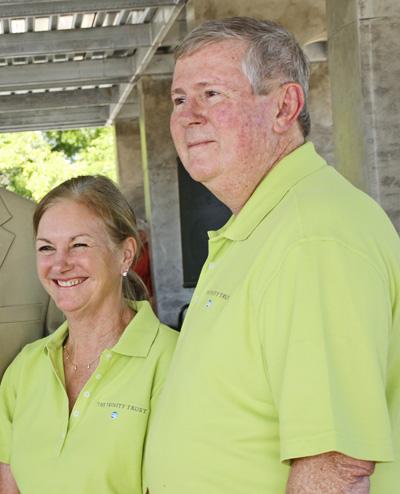 Mary McDermott Cook and Paul Harris