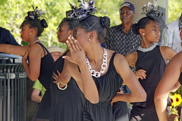 Black Dance Theatre's children's troupe