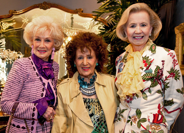 Billie Leigh Rippey, Mary Lee Cox and Yvonne Crum