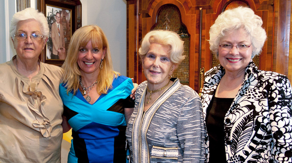 Faye Gould, Therese Rourk, Olive Coe and Judy Birchfield